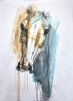 """Saatchi Art Artist Benedicte Gele; Drawing, """"Alert 3t"""" #art"""