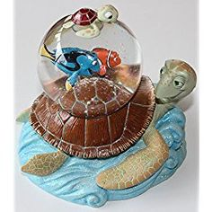 "Finding Nemo ""RIDING THE EAC"" Snow Globe"
