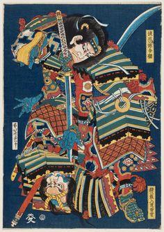 葛飾 北斎 Katsushika Hokusai (1760 - 1849) Watanabe no Gengo...
