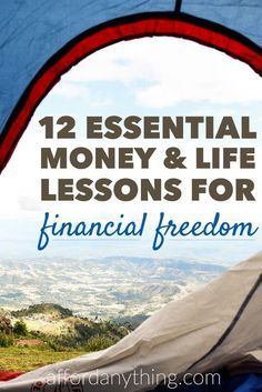 These 12 financial principles are the cornerstones of the Afford Anything philosophy, and the most important lessons about money and life I've learned throughout the years. Learn more about them so you can become a rebel and achieve financial independence.