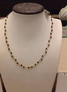 2 layer mangalsutra #Indian #Jewellery