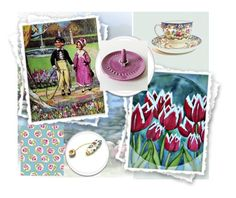 """""""The Magic Garden"""" by jarmgirl ❤ liked on Polyvore featuring art and vintage"""
