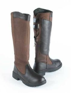 Details about Mountain Horse High Rider II Leather Riding Boots ...