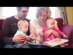 Ce vidéo de l'EANE traite l'importance de lire aux enfants dès la naissance. France, Children, Young Children, Songs, Fle, Birth, Baby Born, Reading, Boys