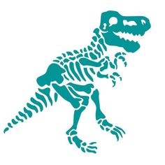 This design is intended to be cut with an electronic cutting machine. Dinosaur Skeleton, Dinosaur Bones, Vinyl Projects, Design Projects, Paper Cutting Templates, Animal Skeletons, Safari Theme, Lilo And Stitch, Vinyl Designs