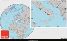 awesome Map of Ogliastro Cilento