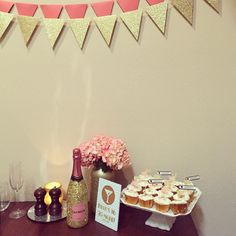 Flirty Thirty | pink and gold birthday party