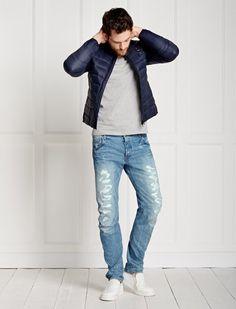 """Jeans """"Arc 3D"""" mit Destroyed-Effekten DESTROYED   31/32"""