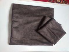 capa almofada em suede