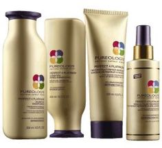Pureology Perfect 4 Platinum - Moisturizes and detangles, while enhancing brightness and shine. Strengthening formula also fortifies fragile hair and maximizes colour retention.