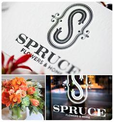 Spruce: Flower Shop Branding at It's Best