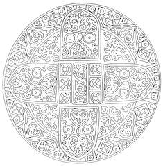 coloriage mandala   Mandalas a colorier : Mandala 15.jpg