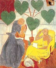 Henri Matisse Two Women 1939 Private Collection 73 x 60 cm. Private Collection