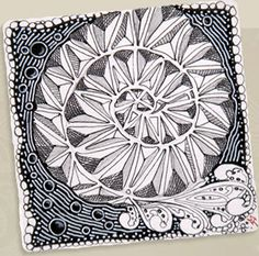 these patterns are so much like machine quilting - so relaxing to draw too  -  http://www.zentangle.com/