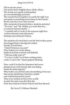 """Nobody Noticed Daniel Pickens"" page 2 by Gwen Haaland"