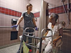 Pushing elderly patients to keep moving (Modern Healthcare Magazine)