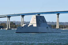 The Navy's newest Zumwalt-class destroyer will be commissioned Jan. 26 at Naval Air Station North Island. Uss Zumwalt, Small Fishing Boats, Us Navy Ships, Command And Control, Fire Powers, United States Navy, Submarines, San Diego, Aircraft