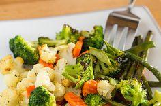 Side Dish: Roasted Frozen Vegetables