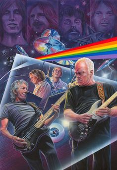 Music Fine Art: Pink Floyd