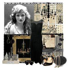 """Vintage Paris"" by nz-carla ❤ liked on Polyvore featuring Rebecca Minkoff, Maison Kitsuné, Chandelier, Rupert Sanderson, STELLA McCARTNEY, Nehita and vintage"