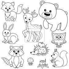 """361 Woodland Animals Coloring Page Lovely """"forest Animals Fox Bear Raccon Hare Deer Owl. Ocean Coloring Pages, Unique Coloring Pages, Farm Animal Coloring Pages, Coloring Pages Inspirational, Pattern Coloring Pages, Alphabet Coloring Pages, Coloring Pages For Kids, Coloring Books, Forest Animals"""