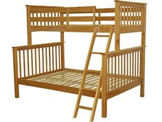 Bedz King Bunk Bed, Twin Over Full Mission Style, Honey  http://www.furnituressale.com/bedz-king-bunk-bed-twin-over-full-mission-style-honey-2/