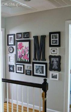 Best Kitchen Wall Gallery Ideas Upstairs Hallway 43+ Ideas #kitchen
