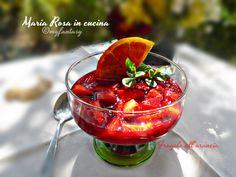 FRAGOLE AL SUCCO D'ARANCIA RICETTA DELIZIOSA Dessert Recipes, Desserts, Macedonia, Tailgate Desserts, Deserts, Postres, Dessert, Desert Recipes, Pastries Recipes