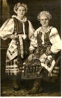 Женщины — The Forgotten Garden Folk Costume, Costumes, Old Portraits, Indigenous Tribes, White Russian, Heart Of Europe, Folk Dance, European History, Vintage Photographs