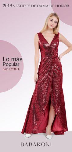 9037854fb Te encantará este vestido de dama de honor y vestido de graduación que  hasta el suelo