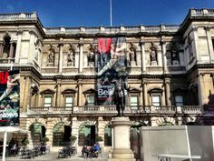 Royal Academy of Arts in Mayfair, Greater London. I went here in January 2010, to see the exhibit of the Van Gogh letters, another dream come true.