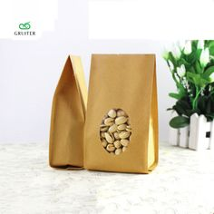 Custom Logo Durable Kraft Paper Bags Bottom Gussets Open Top Pouch Heavy-Duty Food Bags W/Tear Notch Oval Window 100x 10x22cm |  Buy online Custom Logo Durable Kraft Paper Bags Bottom Gussets Open Top Pouch Heavy-Duty Food Bags W/Tear Notch Oval Window 100x 10x22cm only US $31.29 US $31.29. Here we will give you the discount of finest and low cost which integrated super save shipping for Custom Logo Durable Kraft Paper Bags Bottom Gussets Open Top Pouch Heavy-Duty Food Bags W/Tear Notch Oval…