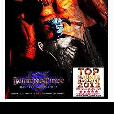 Vote for BENNETT'S CURSE on your MOBILE Phone as one of the Top Haunted Houses in the World! http://www.addpoll.com/tophaunts/poll/211335