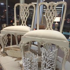 Wonderful set of Chippendale Chairs