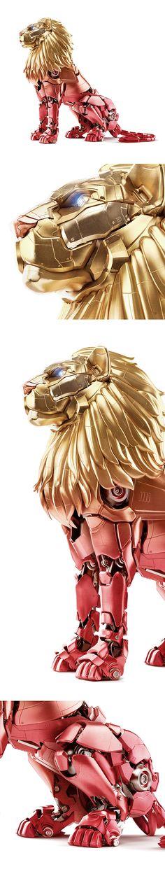 Sutent Mechanical Lion on Behance