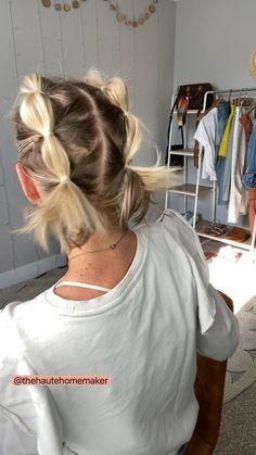 Cute Hairstyles For Medium Hair, Cute Hairstyles For Short Hair, Medium Hair Styles, Curly Hair Styles, Protective Hairstyles, Short Hair Cuts For Women, Hairstyles For Concerts, Short Hair Braid Styles, Braided Hairstyles For Short Hair