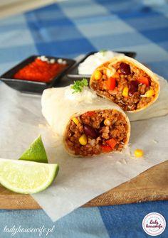 Meksykańskie burrito. Burrito to danie pochodzące z Meksyku, z kuchni Tex-Mex. Jest tradycyjną potrawą Ciudad Juárez w stanie Chihuahua.