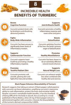 benefits of turmeric #detoxinfographic