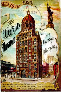 The World Almanac and Bureau of Information 1890