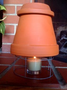 Heater from a Candle…I'm not impressed – In the Still Morning Air Heating And Cooling, How To Look Better, Candle Holders, Glow, Table Lamp, Vans, Diy Projects, Candles, Cool Stuff