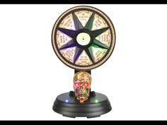 Animated Mystic Wheel Decoration, Animated Halloween Decorations