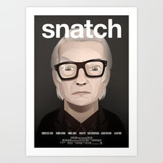 Snatch movie poster by Capitoni