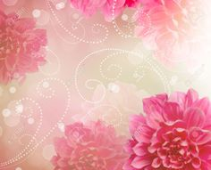 Pink Abstract Designs