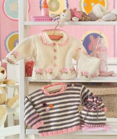 Free Pattern: Baby's Sweater with Hat@Kailey Crowell   for when you get really proficient