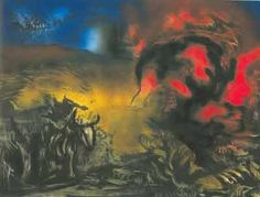 Landscape with Steer - Jackson Pollock (c. 1936-1937)