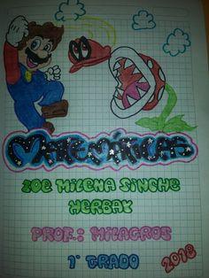 Grammar Book, Deadpool, Art Drawings, Mario, Doodles, Bullet Journal, Lettering, Princesas Disney, School