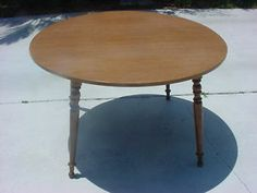 Details About Ethan Allen Heirloom Round Dining Table Col Onial