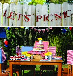 Cute Patriotic Picnic Party Pictures + Inspiration.