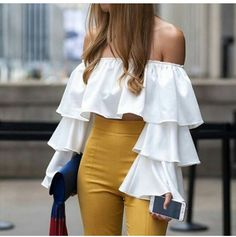 Summer Fashion For Ladies Over 50 .Summer Fashion For Ladies Over 50 Crop Top Outfits, Cute Casual Outfits, Stylish Outfits, Dress Outfits, Girls Fashion Clothes, Fashion Dresses, Look Fashion, Womens Fashion, Grunge Fashion