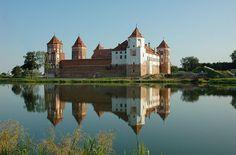 Schloss Mir ◆Weißrussland – Wikipedia http://de.wikipedia.org/wiki/Wei%C3%9Frussland #Belarus